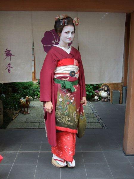 Johanna als Geisha